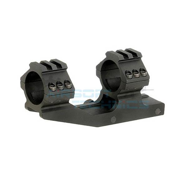 Montura luneta 30mm cu nivela negru BIG DRAGON BD9020(1)