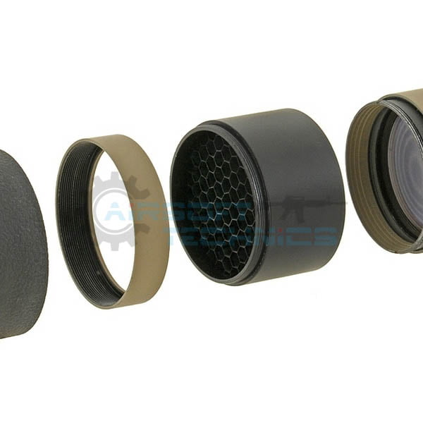 Parasolar luneta anti-reflex 50mm negru Aim-O AO 5322-BK (4)